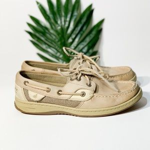 Sherry Top-Sider Bluefish Boat Shoes Leather 6.5